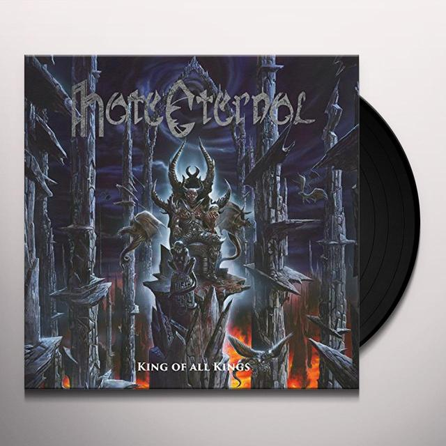 Hate Eternal KING OF ALL KINGS Vinyl Record - 180 Gram Pressing, Reissue