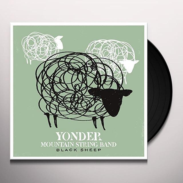 Yonder Mountain String Band BLACK SHEEP Vinyl Record - Gatefold Sleeve, 180 Gram Pressing, Digital Download Included