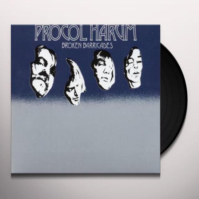 Procol Harum BROKEN BARRICADES Vinyl Record - Gatefold Sleeve
