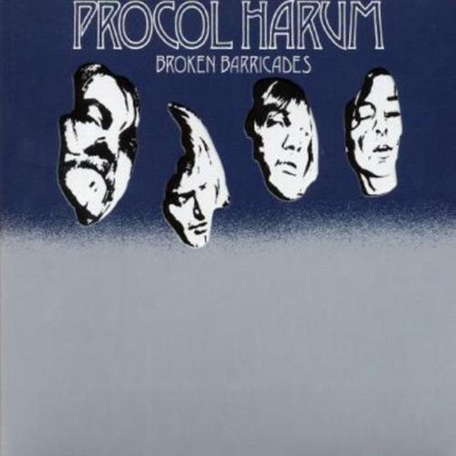 Procol Harum BROKEN BARRICADES Vinyl Record