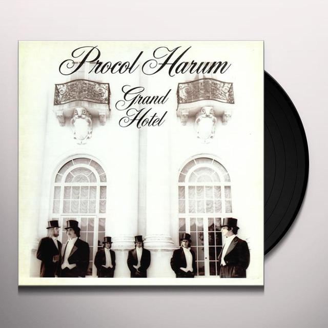 Procol Harum GRAND HOTEL Vinyl Record - Gatefold Sleeve