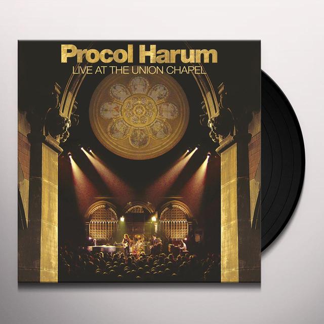 Procol Harum LIVE AT THE UNION CHAPEL Vinyl Record - Gatefold Sleeve