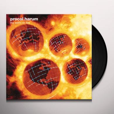 Procol Harum WELL'S ON FIRE Vinyl Record - Gatefold Sleeve
