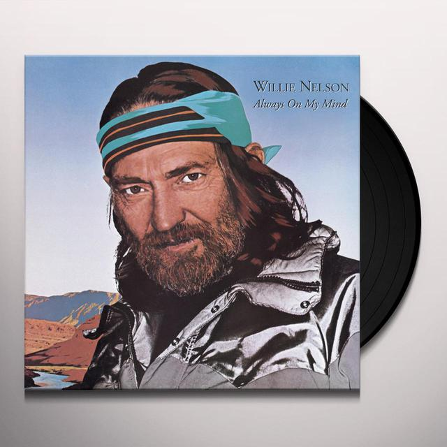 Willie Nelson ALWAYS ON MY MIND Vinyl Record