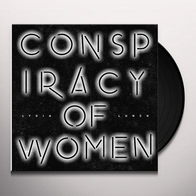 Lydia Lunch CONSPIRACY OF WOMEN Vinyl Record