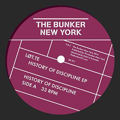 LOT.TE HISTORY OF DISCIPLINE Vinyl Record