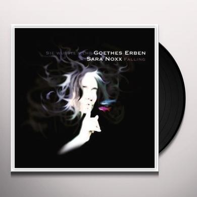 Sara Noxx & Goethes Erben FALLING / SIE WUSSTE MEHR Vinyl Record