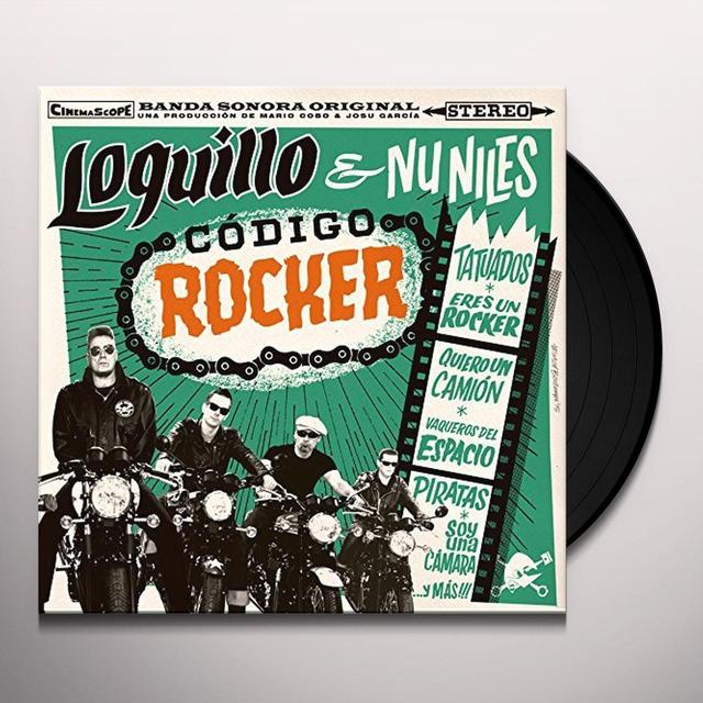 LOQUILLO & UN NILES CODIGO ROCKER Vinyl Record - Spain Import