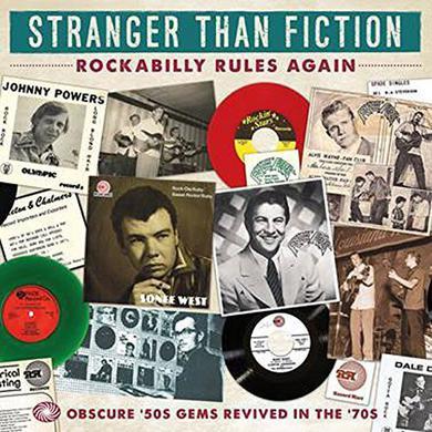 STRANGER THAN FICTION: ROCKABILLY / VARIOUS (UK) STRANGER THAN FICTION: ROCKABILLY / VARIOUS Vinyl Record