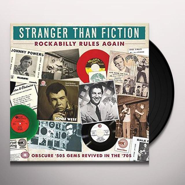 STRANGER THAN FICTION: ROCKABILLY / VARIOUS (UK) STRANGER THAN FICTION: ROCKABILLY / VARIOUS Vinyl Record - UK Import