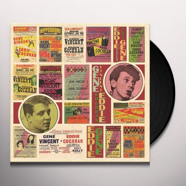 Eddie Cochran & Gene Vincent SATURDAY CLUB Vinyl Record - UK Release