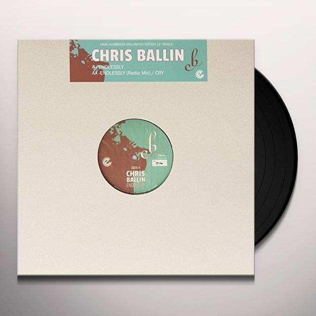 Chris Ballin ENDLESSLY / CRY Vinyl Record - UK Import