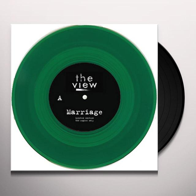 The View MARRIAGE Vinyl Record