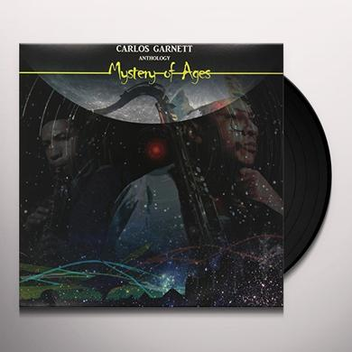 Carlos Garnett MYSTERY OF AGES-ANTHOLOGY Vinyl Record - UK Import