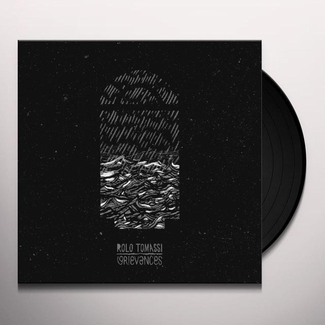 Rolo Tomassi GRIEVANCES Vinyl Record - Colored Vinyl, White Vinyl, UK Import