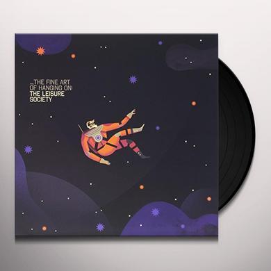 The Leisure Society FINE ART OF HANGING ON Vinyl Record - UK Import