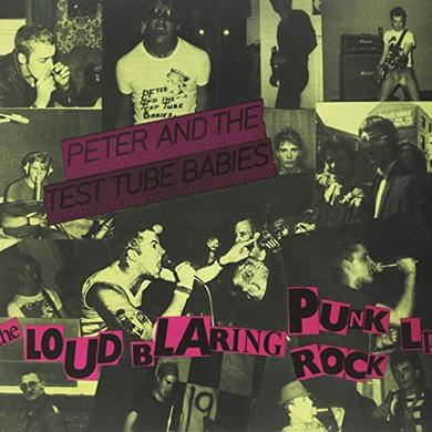 Peter and the Test Tube Babies LOUD BLARING PUNK ROCK Vinyl Record - UK Release