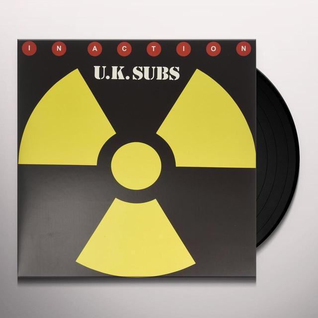 U.K. Subs IN ACTION Vinyl Record - UK Import