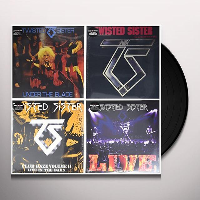 Twisted Sister LTD EDITION VINYL SET Vinyl Record - UK Release