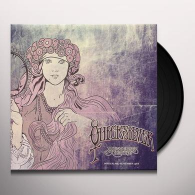 Quicksilver Messenger Service WINTERLAND NOVEMBER 1968 Vinyl Record - UK Release