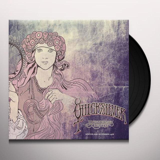 Quicksilver Messenger Service WINTERLAND NOVEMBER 1968 Vinyl Record