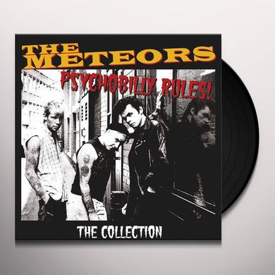 The Meteors PSYCHOBILLY RULES-THE COLLECTION Vinyl Record - UK Release