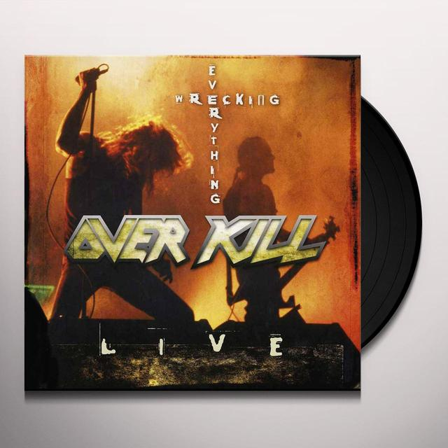 Overkill WRECKING EVERYTHING Vinyl Record - UK Release