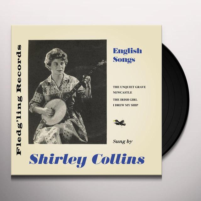 Shirley Collins ENGLISH SONGS Vinyl Record - UK Import