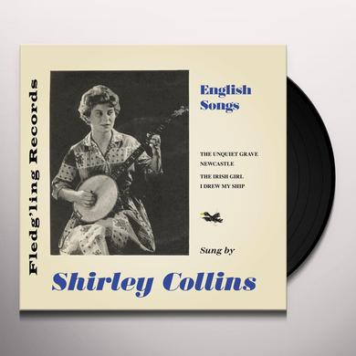 Shirley Collins ENGLISH SONGS Vinyl Record - UK Release