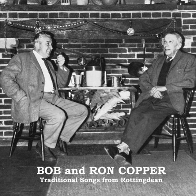 Bob & Ron Copper TRADITIONAL SONGS Vinyl Record - UK Import