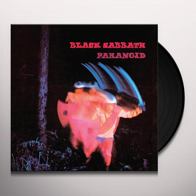 Black Sabbath PARANOID Vinyl Record - UK Import