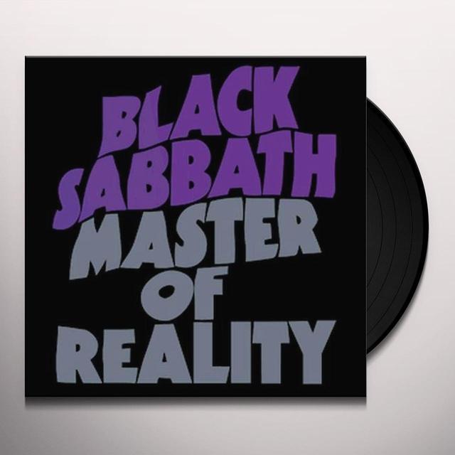 Black Sabbath MASTER OF REALITY Vinyl Record - UK Import