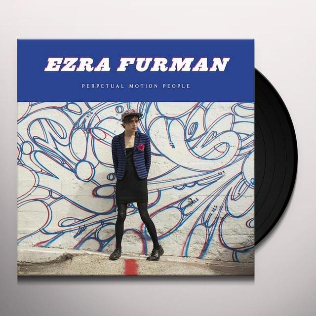 Ezra Furman PERPETUAL MOTION PEOPLE Vinyl Record - UK Release