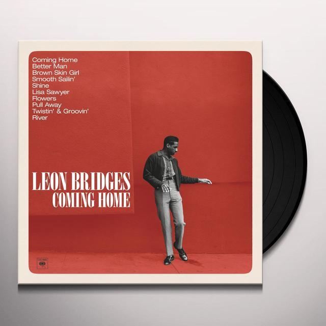 Leon Bridges COMING HOME  (DLI) Vinyl Record - 180 Gram Pressing