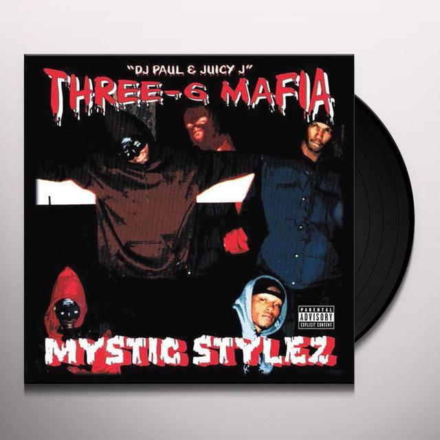 Three 6 Mafia MYSTIC STYLEZ Vinyl Record - Anniversary Edition