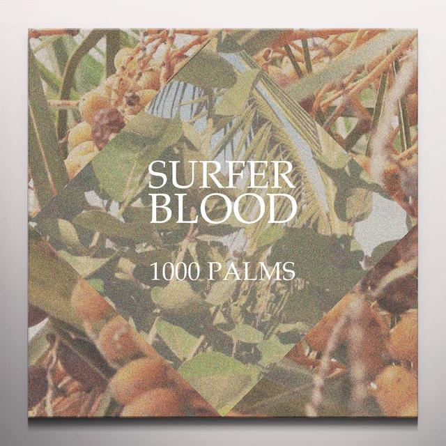 Surfer Blood 1000 PALMS Vinyl Record - Blue Vinyl, Colored Vinyl