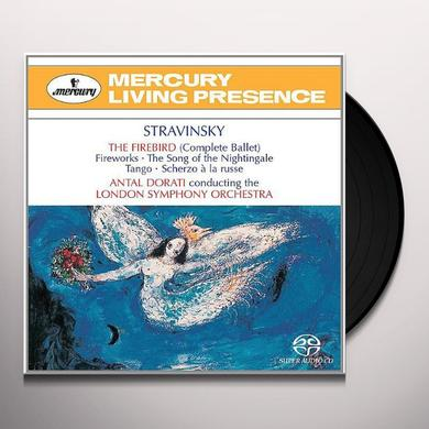 STRAVINSKY / DORATI / LSO FIREBIRD Vinyl Record