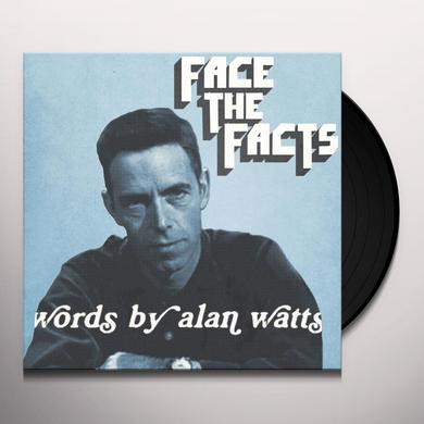 Alan Watts & Jas Walton FACE THE FACTS: WORDS BY ALAN WATTS Vinyl Record - 10 Inch Single