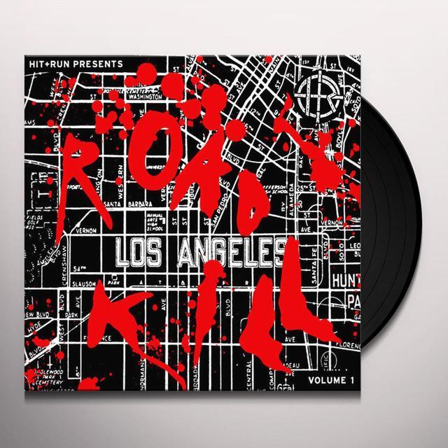 HIT & RUN PRESENTS: ROAD KILL 1 Vinyl Record
