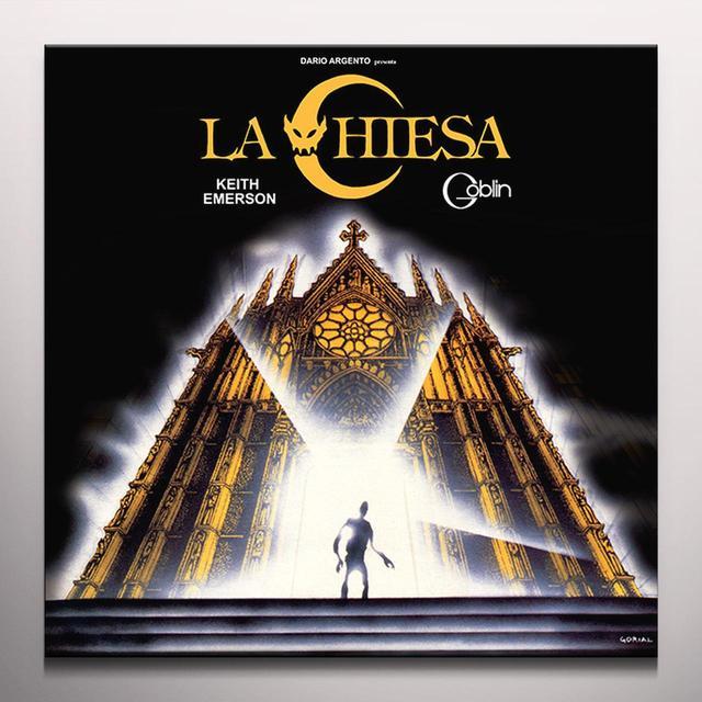 Keith Emerson / Goblin LA CHIESA / O.S.T. Vinyl Record - Limited Edition, 180 Gram Pressing, Orange Vinyl, Yellow Vinyl