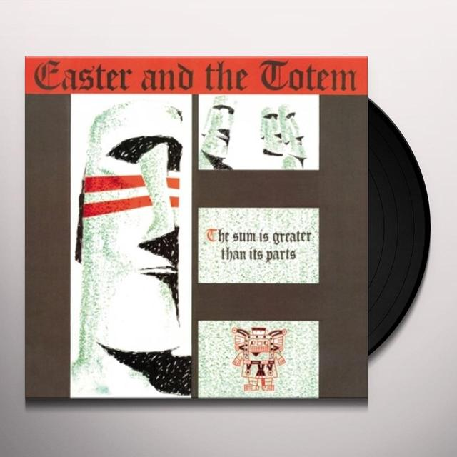 EASTER & THE TOTEM SUM IS GREATER THAN ITS PARTS Vinyl Record