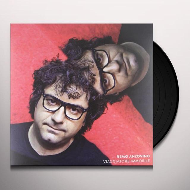 Remo Anzovino VIAGGIATORE IMMOBILE Vinyl Record - Italy Import