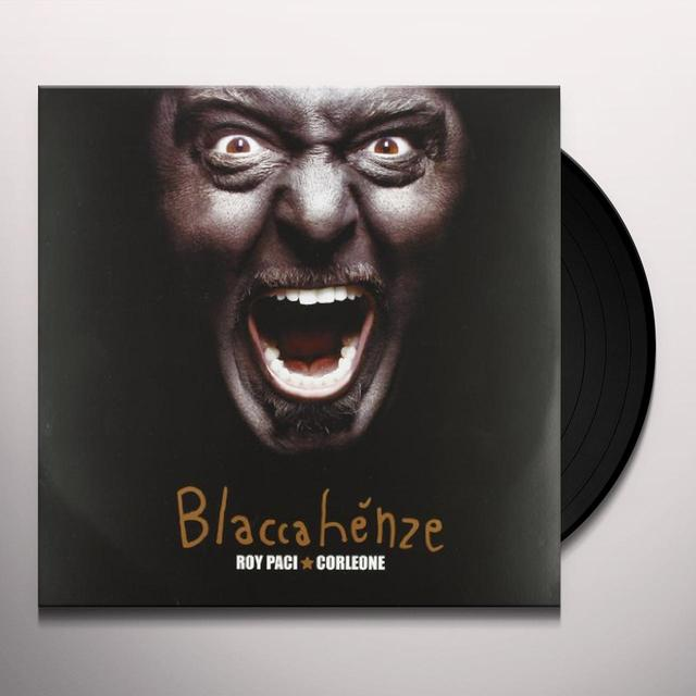 Roy Paci & Corleone BLACCAHENZE Vinyl Record - Italy Import