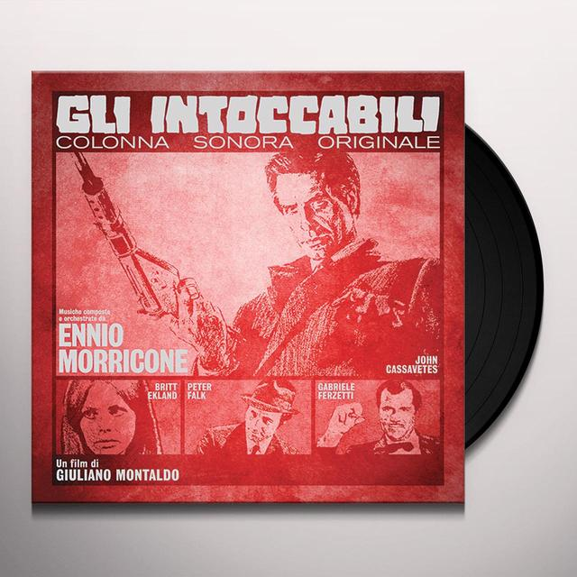 Ennio Morricone GLI INTOCCABILI / O.S.T. Vinyl Record - Gatefold Sleeve, 180 Gram Pressing, Poster