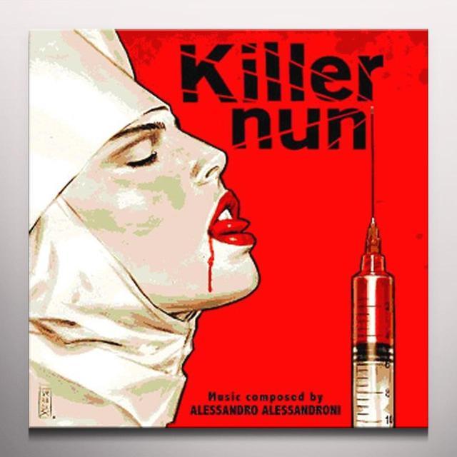 Alessandro Alessandroni KILLER NUN / O.S.T. (BONUS TRACKS) Vinyl Record - Red Vinyl