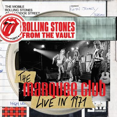 The Rolling Stones FROM THE VAULT: THE MARQUEE CLUB LIVE IN 1971 Vinyl Record