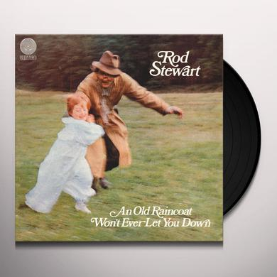 Rod Stewart AN OLD RAINCOAT WON'T EVER LET Vinyl Record