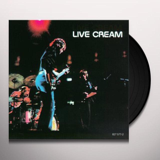 LIVE CREAM Vinyl Record