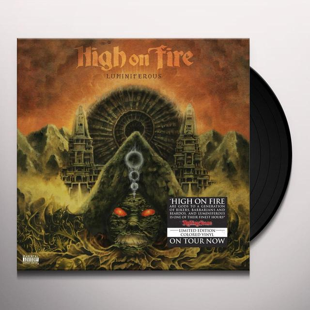 High On Fire LUMINIFEROUS Vinyl Record