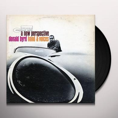 Donald Byrd NEW PERSPECTIVE Vinyl Record